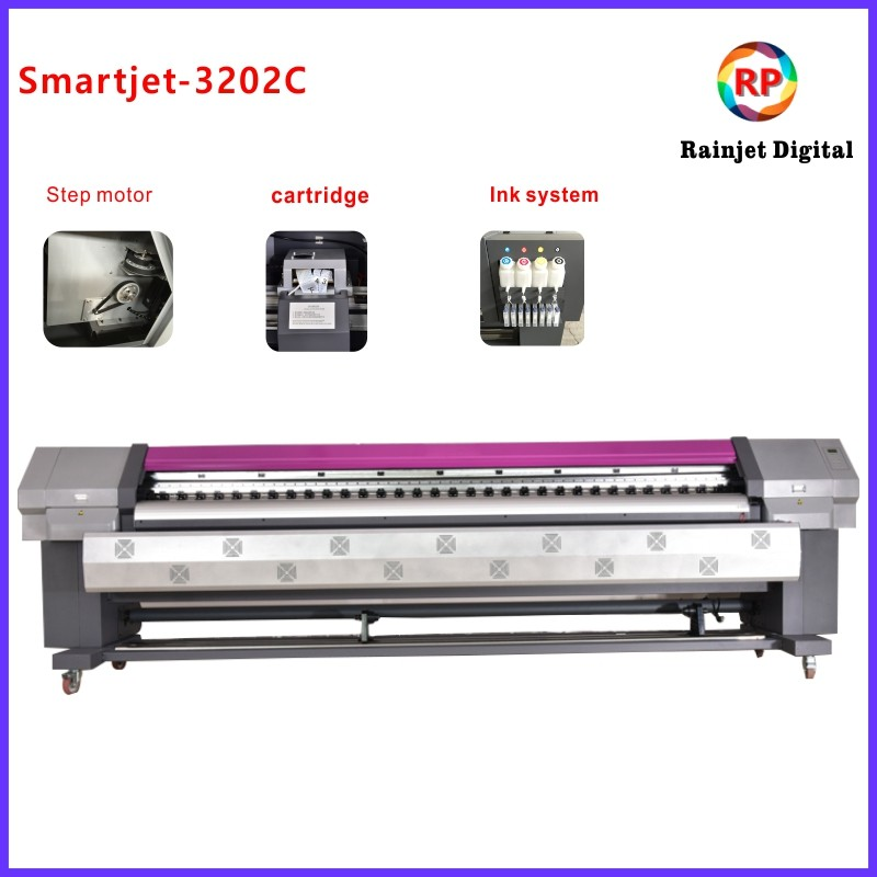 10feet Wide Format dx5 Printhead Inkjet For Outdoor Canvas Printing Machine