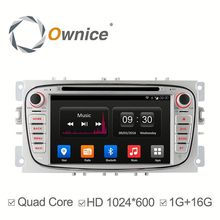 Ownice Car DVD for Ford Focus 2007-2010 with mp3 player gps audio rds bluetooth multimedia car radio