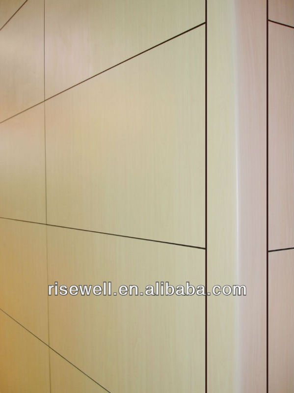 HPL bathroom plastic decorative wall panel
