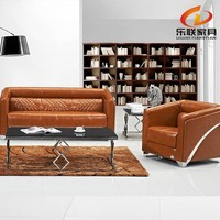 half round corner leather office sofa furniture factory manufacture S810