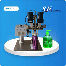 semi automatic pump bottle capping machine screw capping machine