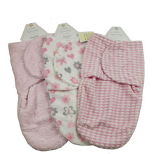 Wholesale baby products 100% polyester Jacquard fleece winter baby sleeping bag