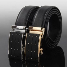 Fashion high quality spilt leather men's dress automatic <strong>belt</strong>
