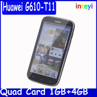 Huawei G610 wcdma g610s mobile phone mt6589M quad core mobile phone