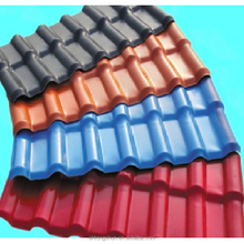 Synthetic Resin Material ASA Tiles Type plastic spanish roof tile