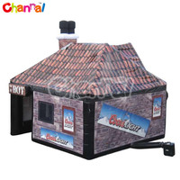 The Firkin Inflatable Pub, halloween inflatable haunted house
