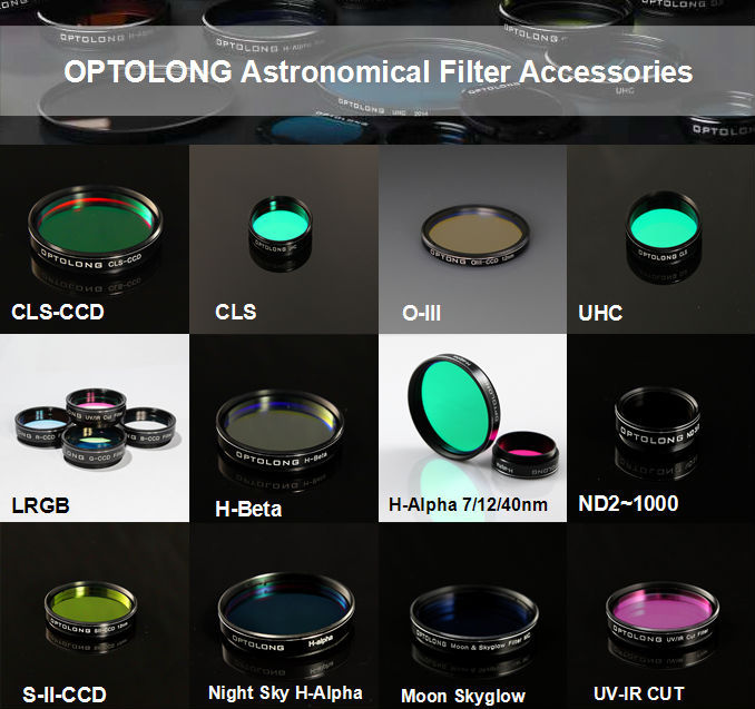 12nm H-Beta astronomy camera filter for astronomy photography