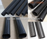 round square rectangular oval octagon shape carbon fiber customized Tubing