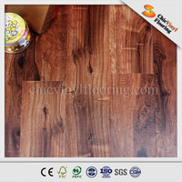 Nature wood look interlocking floor tile pvc flooring price for indoor made in China