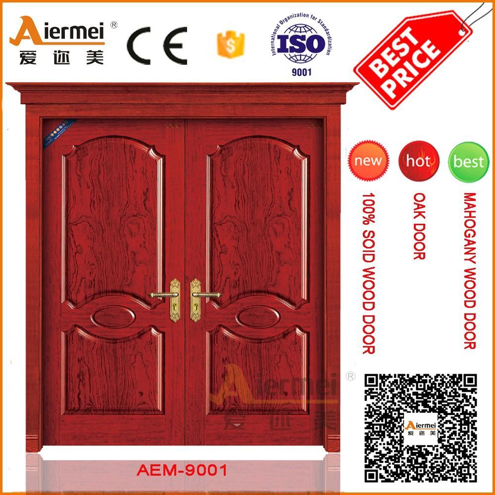 Buy Double Doors Indian Main Door Design Double Leaf Exterior Door Wood Double Door