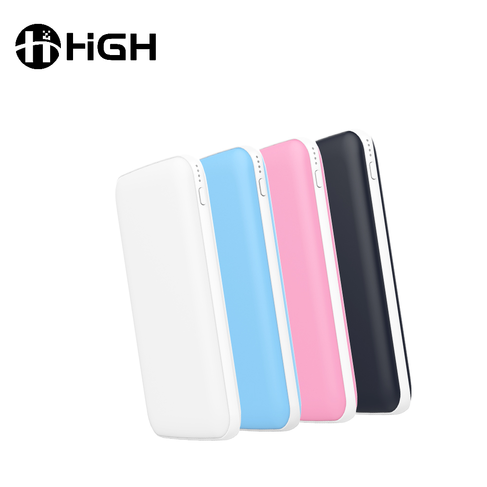 2017 Promotion gift famous brand mobile power bank portable usb battery charger pink power bank