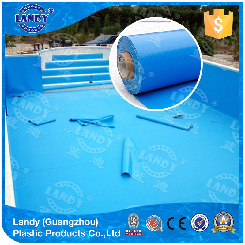 Custom swimming vinyl pvc pool Liner material