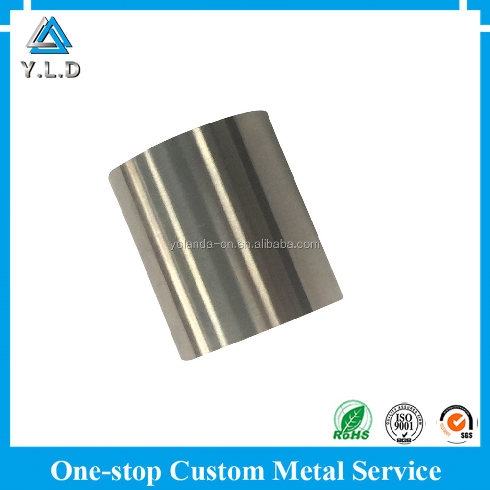 Up-to-Date Equipment Stainless Steel CNC Machining Mechanical Shaft Sleeve At Best Price