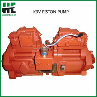 JCB oil pump K3V series hydraulic double piston pump