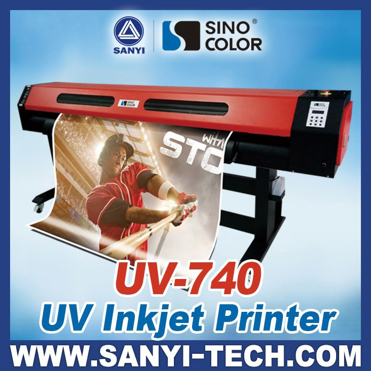 1.8M 3.2M With Epson DX7 Heads SinoColor UV-740 Plus UV Printers
