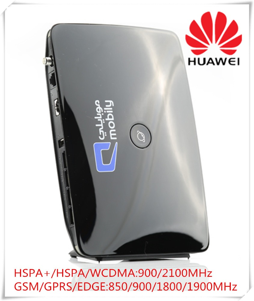 Unlocked New Original HSPA 28.8Mbps Huawei B683 3G Wireless Router With Sim Card Slot Support USB,RJ11,LAN Port And Voice Call
