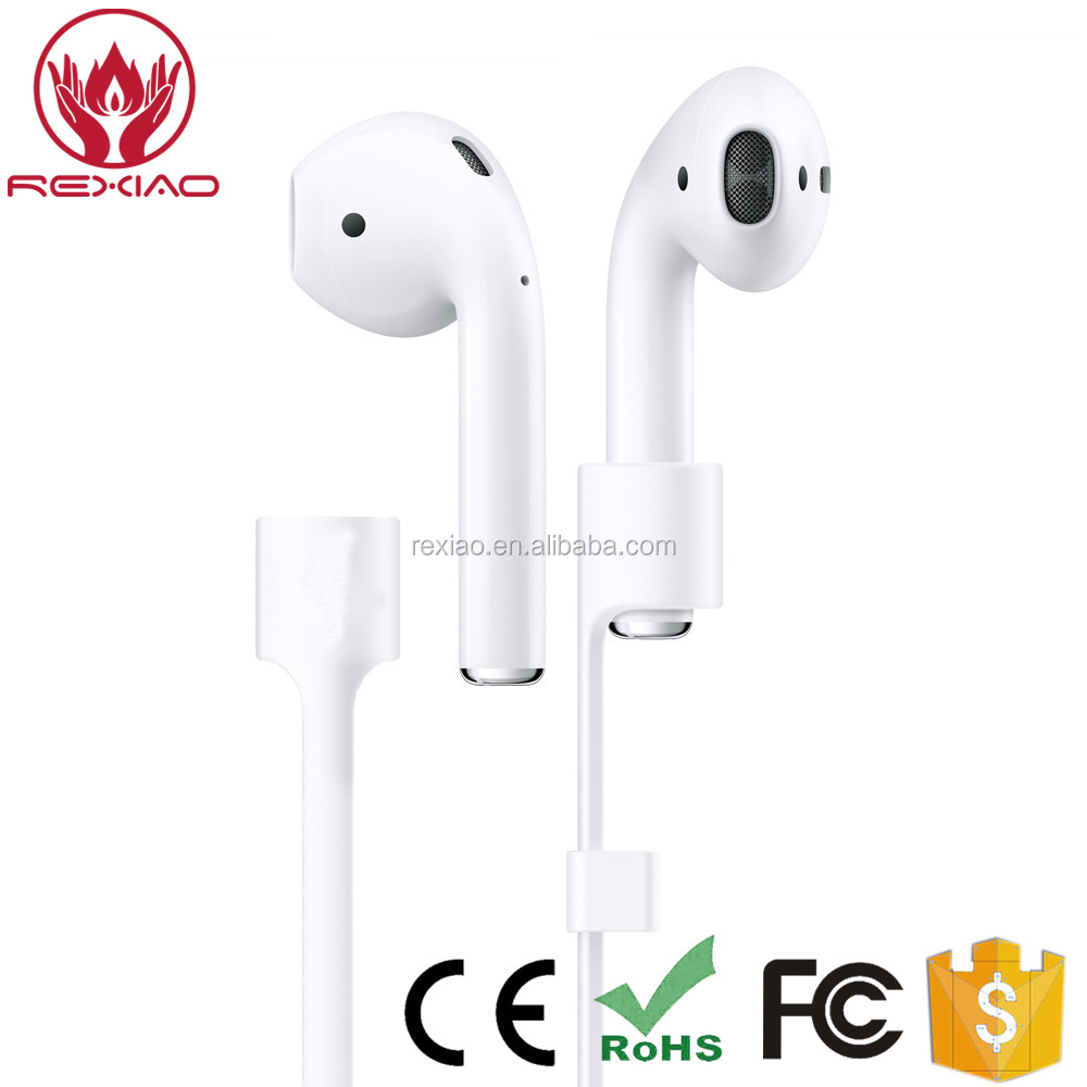 Wire Cable Connector for iPhone 7/7 Plus Durable String for AirPods Headphone Sport Strap