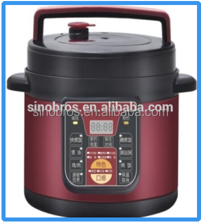 Stainless steel multi electric pressure cooker with steamer,safety valve