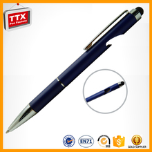 New products 2016 logo custom touch pen for laptop touch screen stylus pens metal touch pen promotional