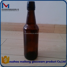 high quality Swing Top Amber Round 500ml Amber Beer Glass Bottle