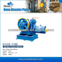 Geared Traction Machine, NV41G-F180 VVVF Elevator Tractor, Elevator Parts