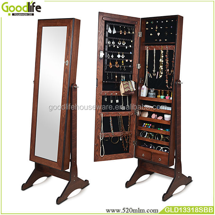 Standing Mirror Jewelry Armoire Mirror Jewelry Armoire
