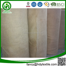 2017 wholesale eco-friendly jute burlap cloth jute cloth uses jute fabric burlap roll