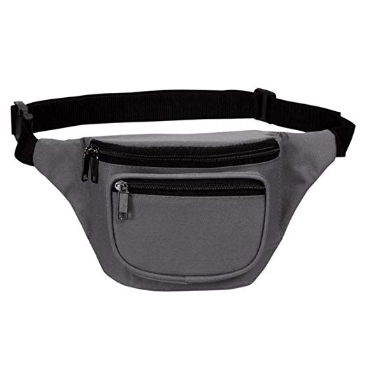 Quick Release Buckle Fanny Pack Waist Pack Bag  for travel sports