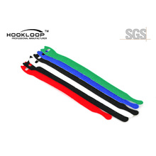 New Launched Printed Nylon Stretch Hook And Loop Cable Tie