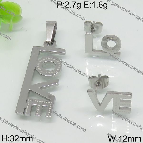 Powell Wholesale Popular Fashion Jewelry spain stainless steel jewelry