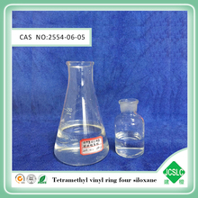 liquid silicone industrial chemical 2468-Tetravinyl-2468-tetramethylcyclotetrasiloxane CAS:2554-06-5