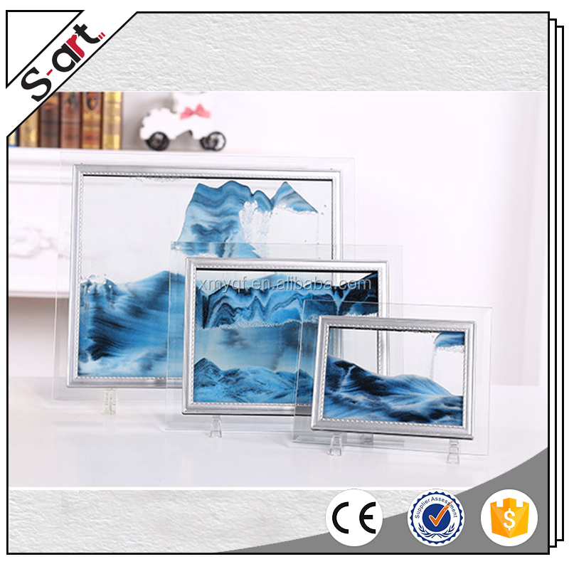 3D Moving Sand painting art for desktop home office decoration nice gift crafts