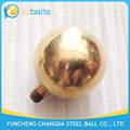 Threaded 80mm Hollow Brass Ball