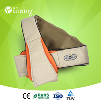 Excellent poewer warming massage belt,vibration massage belt,tapping massage belt for neck and shoulder ce rohs