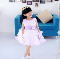 Supply Wholesale Beautiful TUTU Girl Summer Vest Dresses