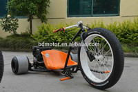 Drift Trike For Entertainment Tricycle Off Road Motorized 3 Fat Wheel Motor Tricycle For Fun Manufacture Supply EEC DOT