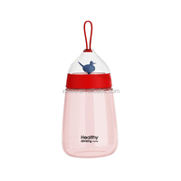 BPA Free School Plastic Water Bottle With Handle
