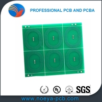 Higest need low price ru fr4 single layer bare pcb board made professional pcb manufacturer