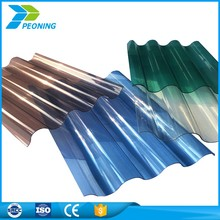 High strength corrugated roofing sheets plastic 4x8 panels