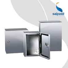China Factory Wall Mounted Stainless Steel Enclosure 400*300*150 Saip Saipwell Waterproof IP65 Electric SS304 Distribution Box
