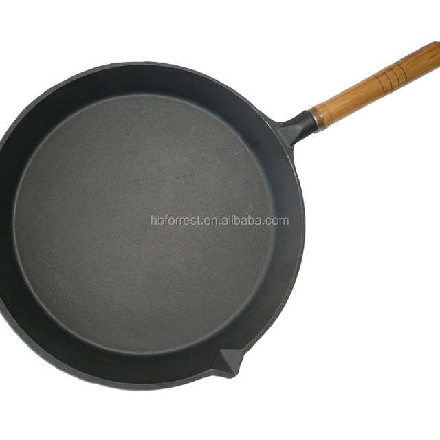 cast iron casserole with removable handle wooden handle cast iron frying pan