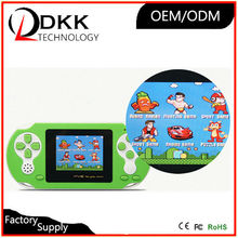 Hot Selling 2.5 inch color screen handheld game console for kids and friends adults game electronic game machine