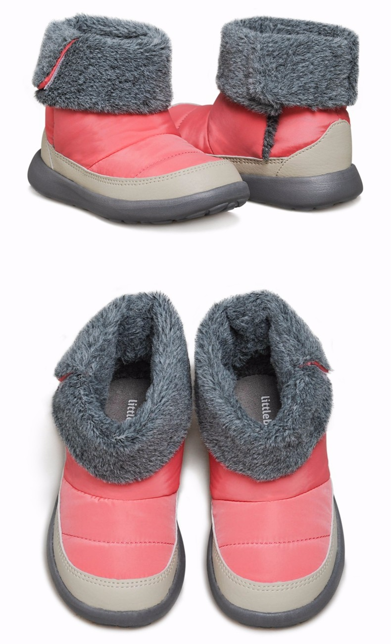 kids winter boots with Non-slip design