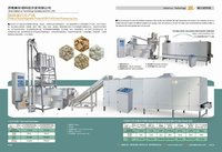 soya snacks production making plant