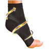 Miracle AntiFatigue Nylon and bamboo fiber Ankle Brace Compression Support Sleeve Socks for Plantar Fasciitis Relief