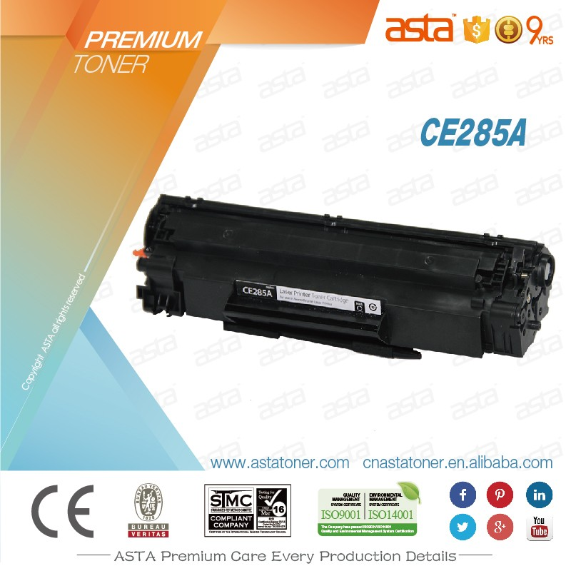 Compatible toner cartridges 285a for HP printers