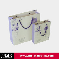 New style customized shopping paper bag kraft paper bags wholesale with paper handle