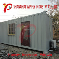 Prefab Villa China Expandable Container House Folding Pre-Made 40Ft Shipping Container House