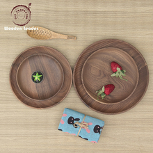 High Quality Acacia Wholesale Wooden Kitchenware Restaurant Steak Dinner Serving Wood <strong>Plate</strong>