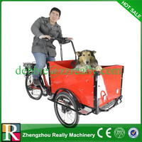 3 wheels pedal electric cargo bike for sale